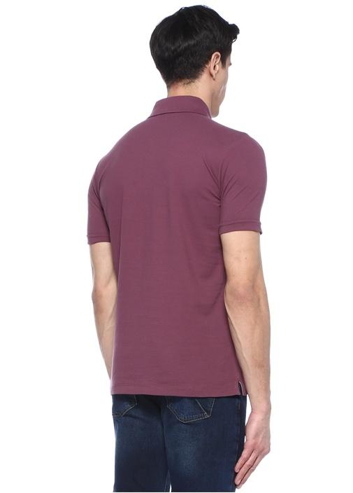Mor Polo Yaka T-shirt