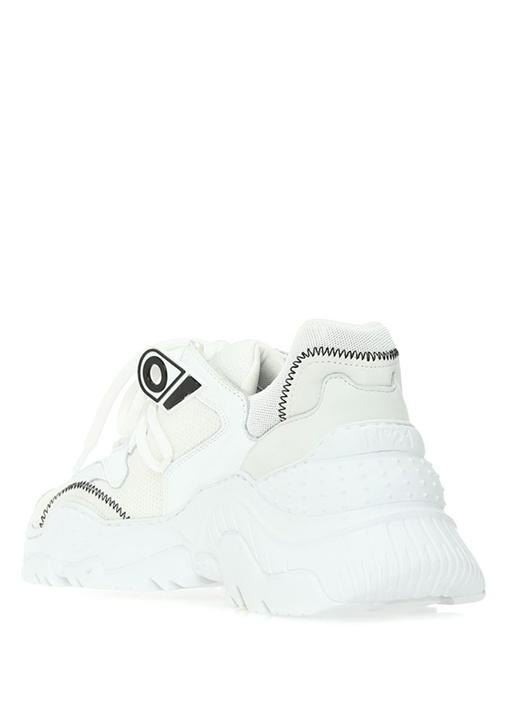 Beyaz Garnili Kadın Sneaker