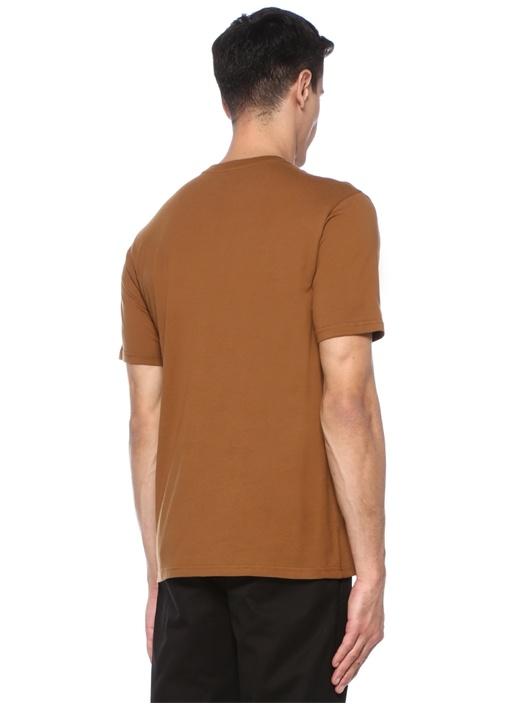 Taba Bisiklet Yaka Cepli Logolu Basic T-shirt