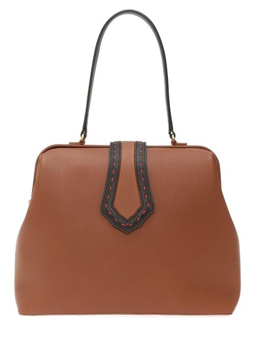 Mehry Mu Jung Large Kahverengi Kadın Deri Çanta – 1959.0 TL