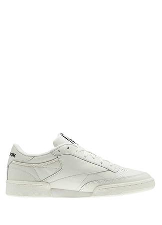 Reebok Kadın Club C 85 Beyaz Sneaker Siyah 40.5 R Ürün Resmi