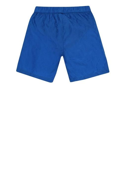 Mavi Logo Desenli Erkek Çocuk Mayo
