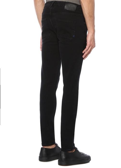 Dart Super Skinny Fit Siyah Jean Pantolon