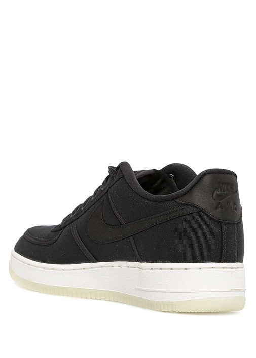 Air Force 1 Retro QS Siyah Kanvas ErkekSneaker