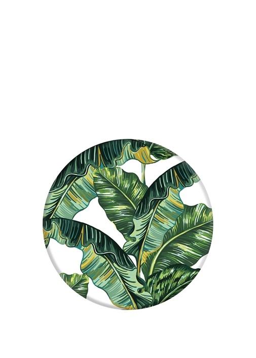 Tropikal Desenli Yuvarlak Formlu Telefon Tutucu