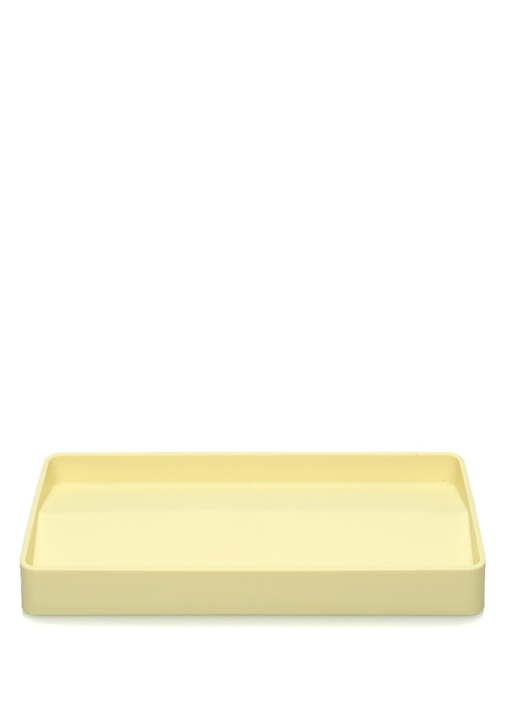 Split Sarı Dekoratif Tabak