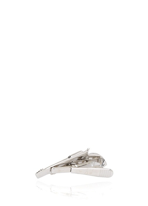 Silver Silah Formlu Kravat İğnesi