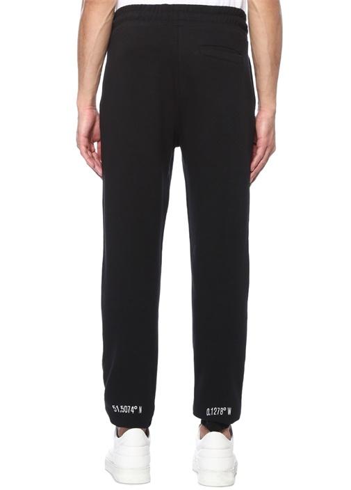 Coordinates Siyah Dar Paça Sweat Pantolon