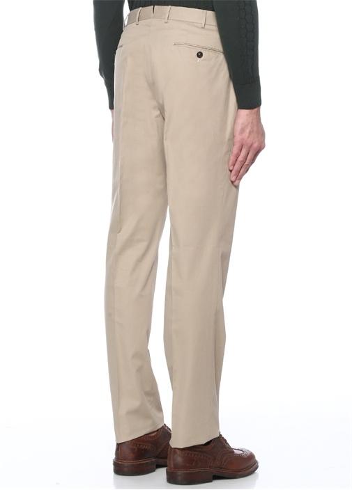Drop 6 Bej Normal Bel Boru Paça Pantolon