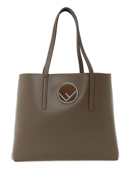 Vizon Kadın Deri Alışveriş Çantası