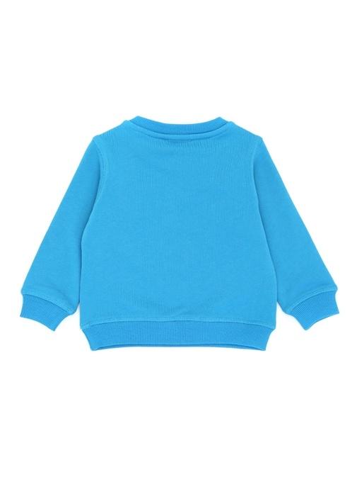 Mav Kaplan Nakışlı Erkek Çocuk Sweatshirt