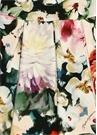 Çiçek Desenli Bebek Jarse Elbise