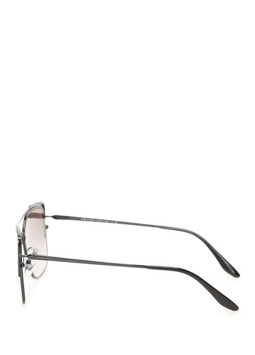 Kahverengi Kare Formlu Kadın Güneş Gözlüğü