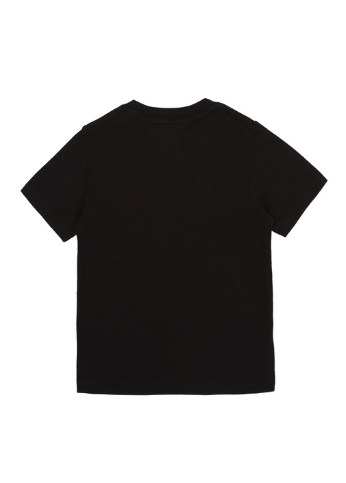 The Pretty Pink n Punk Siyah Erkek Çocuk T-shirt