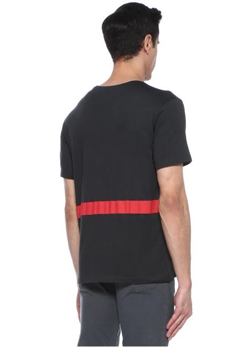 Nun Smoking Antrasit Baskılı T-shirt