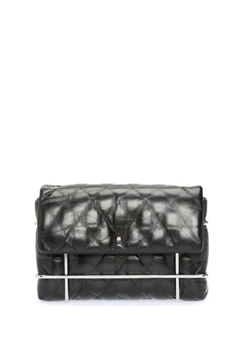 Alexander Wang Halo Siyah Silver Metal Detaylı Kadın Deri Çanta – 6950.0 TL