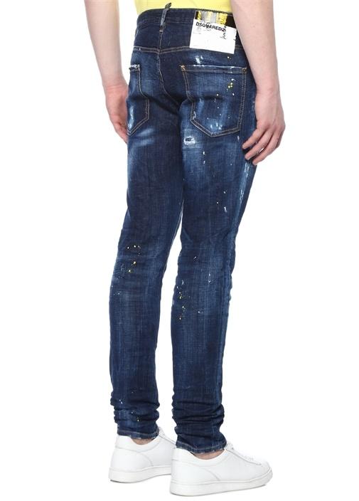 Cool Guy Lacivert Normal Bel Jean Pantolon