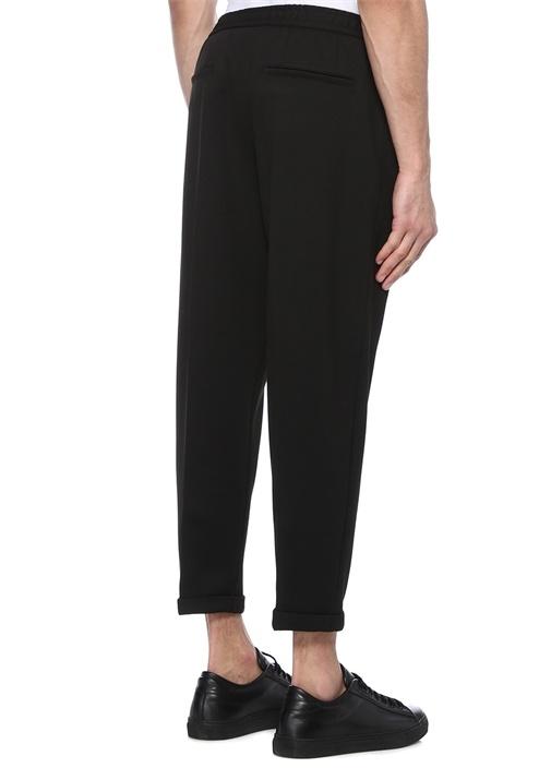 Drop 8 Siyah Normal Bel Dar Paça Pantolon