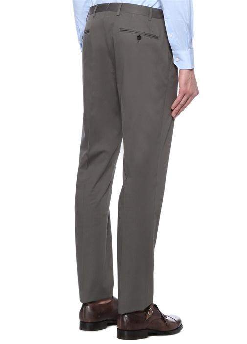 Drop 7 Gri Normal Bel Boru Paça Pantolon