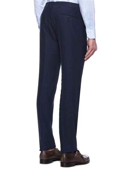 Drop 7 Lacivert Normal Bel Keten Pantolon