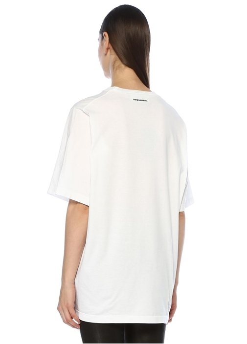 X Mert And Marcus 1994 Beyaz Baskılı T-shirt
