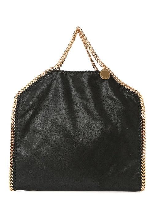 Falabella Siyah Kadın Zincirli Alışveriş Çantası
