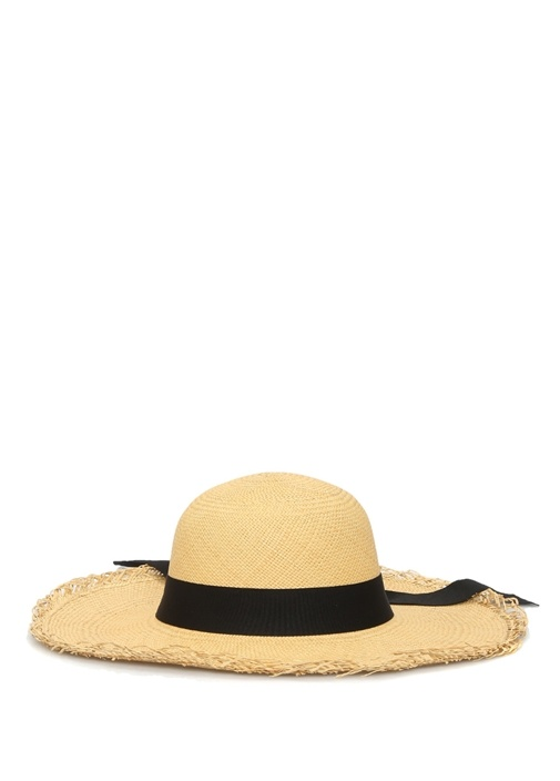 Lady Tom Sawyer Bej Kadın Hasır Şapka