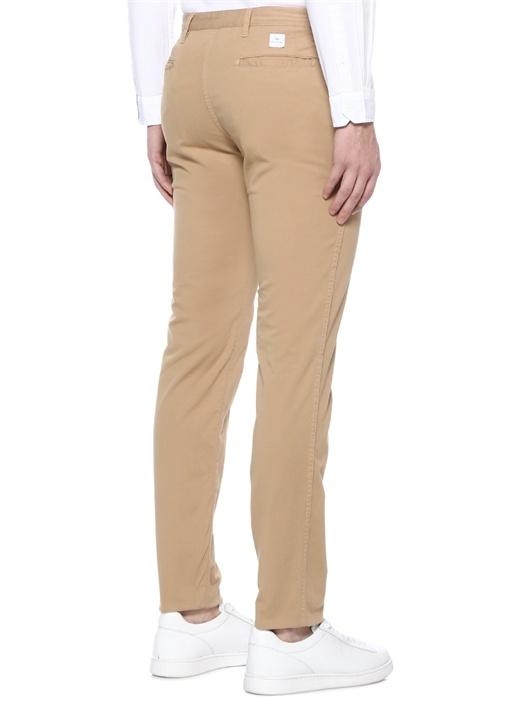 Slim Fit Bej Normal Bel Chino Pantolon