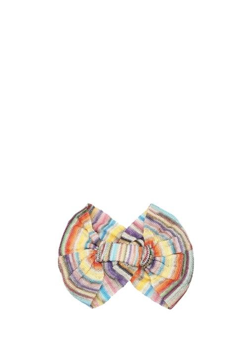 Colorblocked Sim Dokulu Kadın Bandana