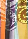 Colorblocked Desenli Erkek Atkı