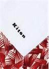 Kırmızı Mikro Desen Detaylı Erkek Plaj Havlusu