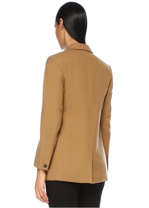 Ellie Kamel Kırlangıç Yaka Kruvaze Blazer Ceket