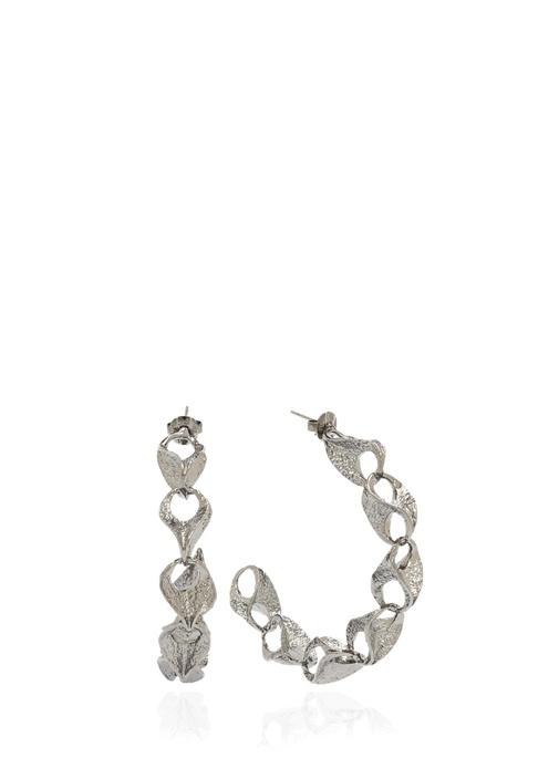Beymen Collectıon Silver Yarım Daire Formlu Kadın Küpe – 399.0 TL
