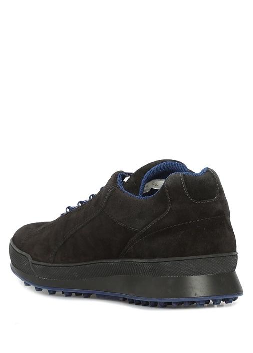 Siyah Lacivert Erkek Süet Sneaker