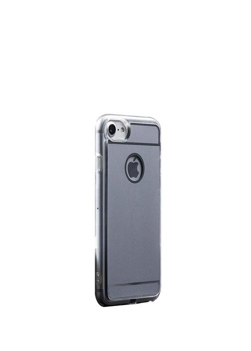 Fluxy iPhone Gri Kablosuz Şarjlı Telefon Kılıfı