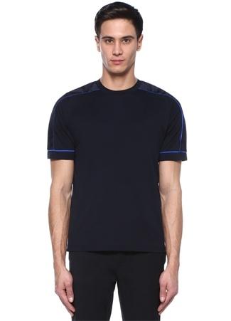 Prada Erkek Siyah Bisiklet Yaka Garnili Biyeli -shirt M Ürün Resmi