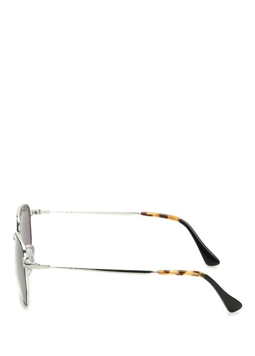 Antrasit Metal Çerçeveli Erkek Güneş Gözlüğü
