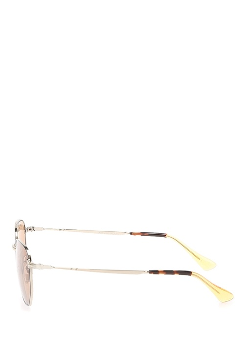 Gold Metal Çerçeveli Erkek Güneş Gözlüğü