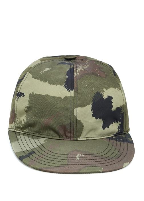 Kamuflaj Desenli Erkek Şapka