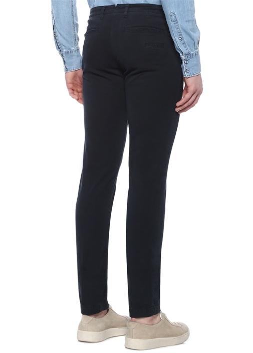 Lacivert Normal Bel Kanvas Pantolon