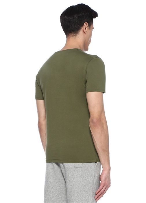 Denver Haki Basic T-shirt