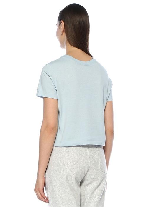 Mavi Logo Nakışlı T-shirt