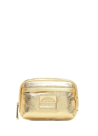 Marc Jacobs Kadın Gold Logolu Deri Çanta Altın Rengi XS/S Ürün Resmi