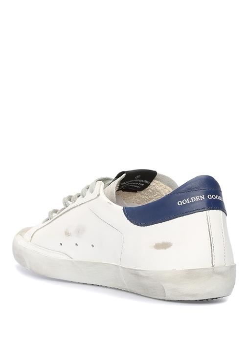 Superstar Beyaz Kırmızı Erkek Deri Sneaker