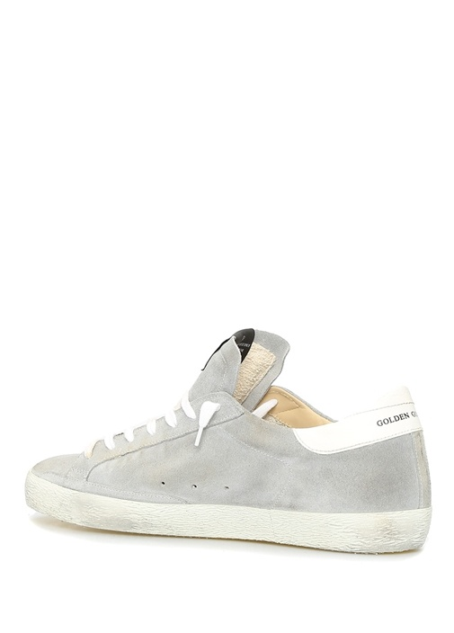 Superstar Gri Erkek Süet Sneaker