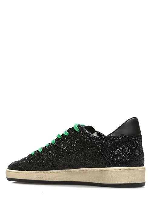 Ball Star Siyah Sim Dokulu Erkek Sneaker