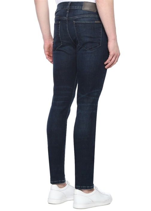 Kinetic Slim Fit Lacivert Jean Pantolon