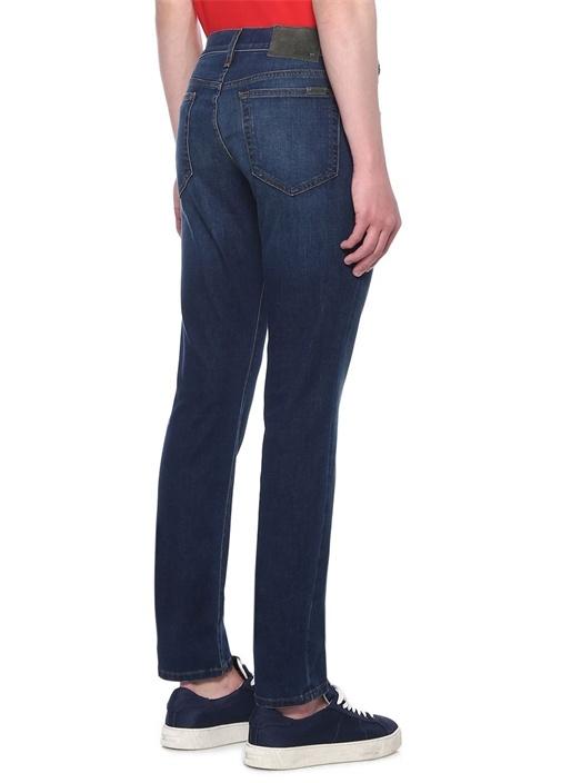 Slim Fit Lacivert Jean Pantolon