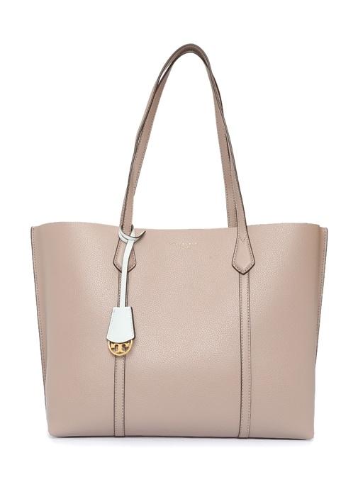 Perry Vizon Logolu Kadın Deri Çanta