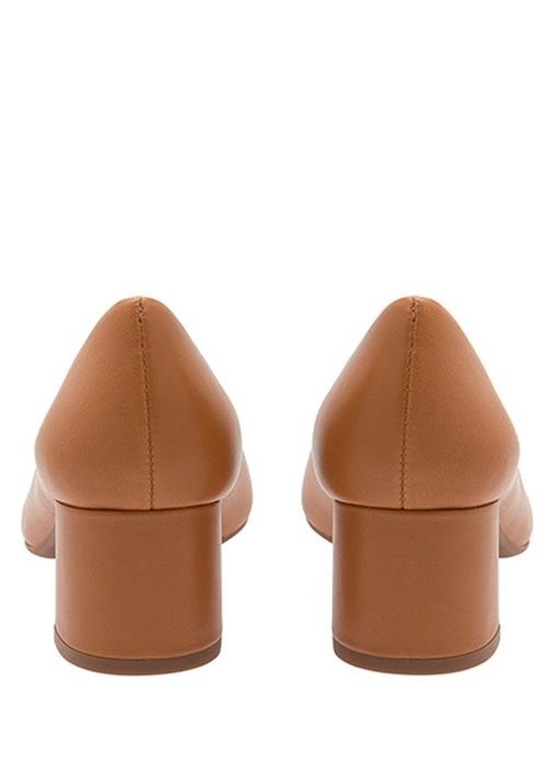 Chelsea Taba Deri Topuklu Ayakkabı